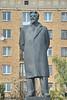 Statue of Mikhail Kalinin on Mikhail Kalinin square on Frantsisk Skorina Avenue