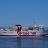 The Toremar ferry from Piombino to Elba Island