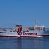 The Toremar ferry from Piombino to Elba Island