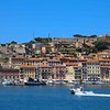 Arriving in gorgeous Portoferraio