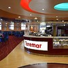 Inside the cafe on the ferry