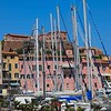 Portoferraio's marina - lots of sailboats!