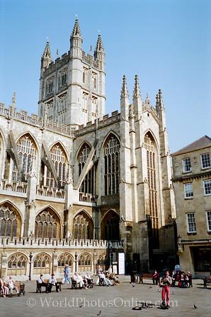 Bath - Bath Cathedral