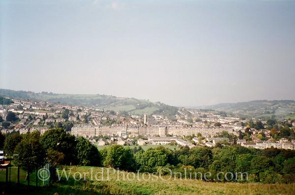 Bath - View of city