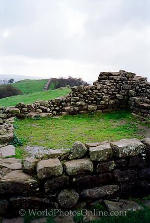 Hadrian's Wall - Tower Base