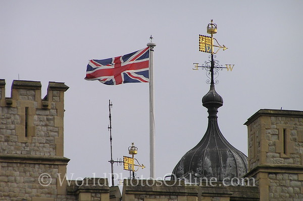 London - Tower of London - Weathervanes