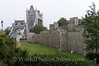 London - Tower of London - East Wall and Tower Bridge