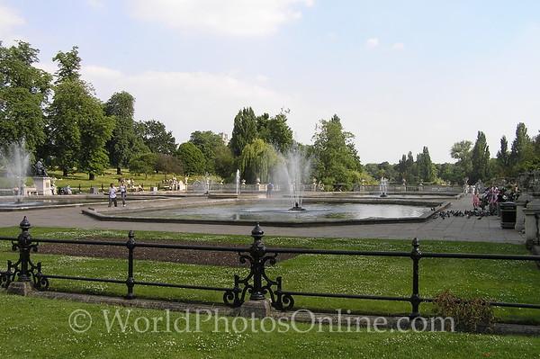 London - Hyde Park - Italian Fountain