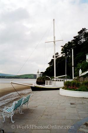 Portmeirion - Stone Boat