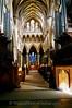 Salisbury - Salisbury Cathedral - High Alter thru Quire (canon's stalls)