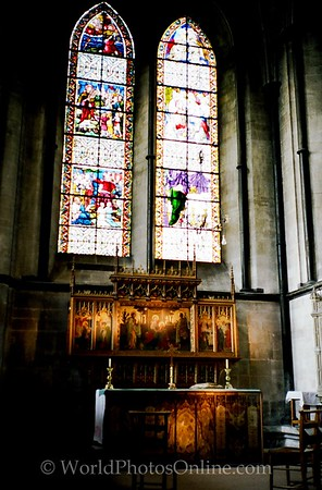 Salisbury - Salisbury Cathedral - Side Altar a