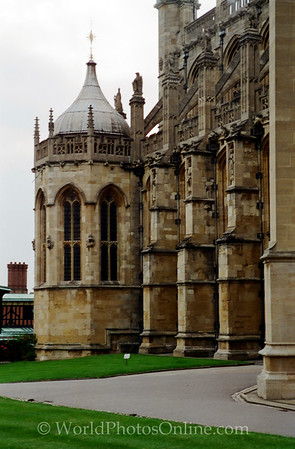 Windsor - Windsor Castle - Lower Ward - St George's Chapel 3