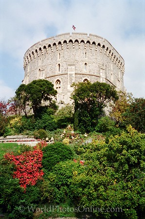 Windsor - Windsor Castle - Round Tower