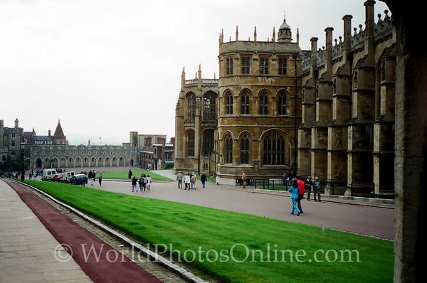 Windsor - Windsor Castle - Lower Ward - St George's Chapel 2