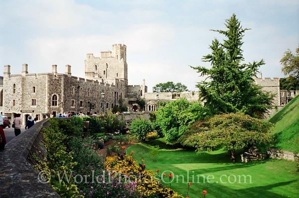 Windsor - Windsor Castle - Middle Ward