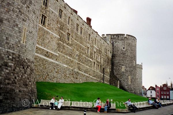 Windsor - Windsor Castle - Exterior Walls