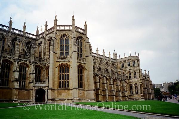 Windsor - Windsor Castle - Lower Ward - St George's Chapel 1