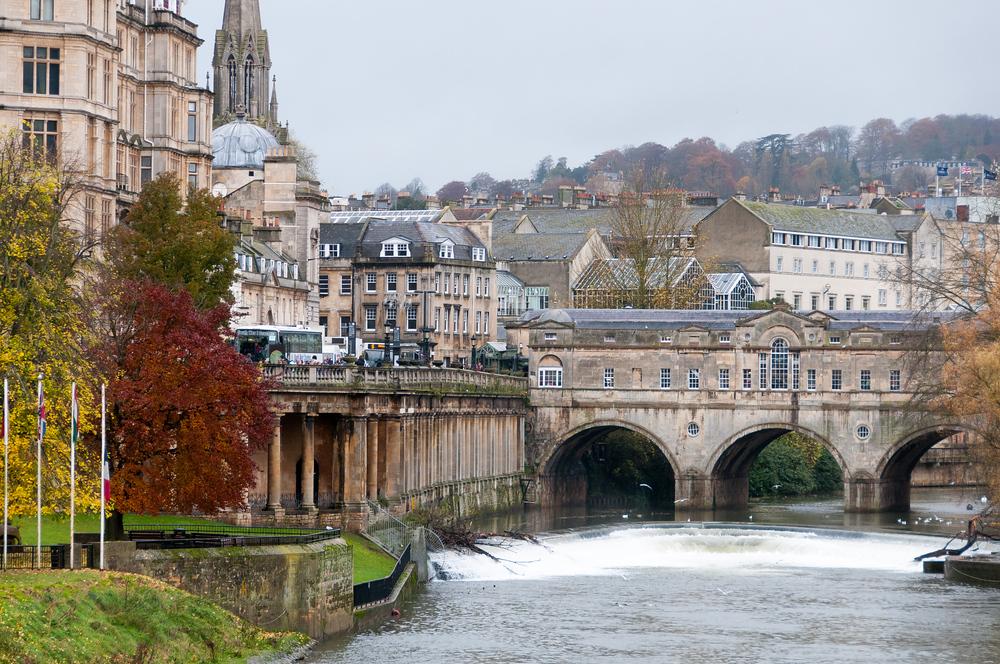 The City of Bath, England