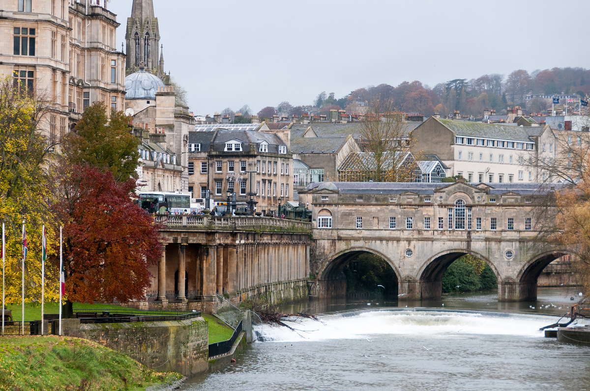 The City of Bath, England