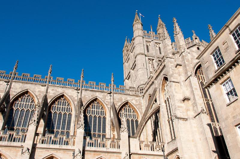 Bath Abbey in Bath England