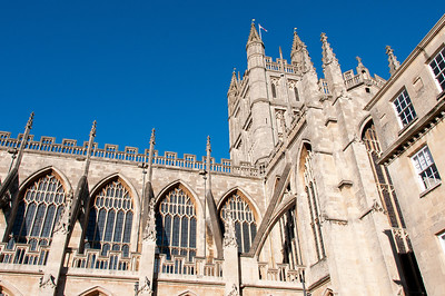 Bath Abbey in Bath England