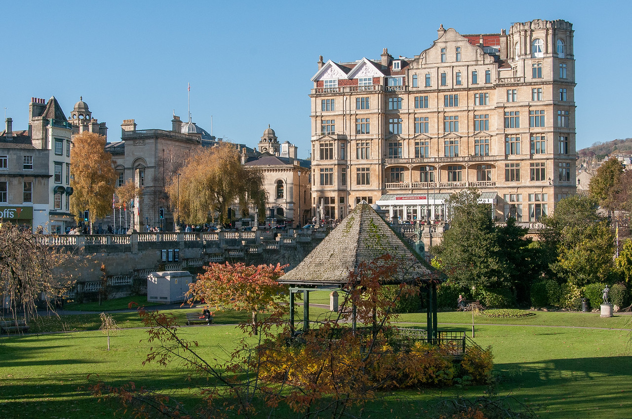 Old structures in Bath, England