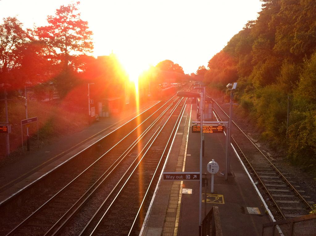 botley train station england