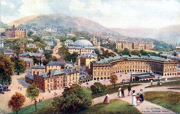 Buxton from the Town Hall