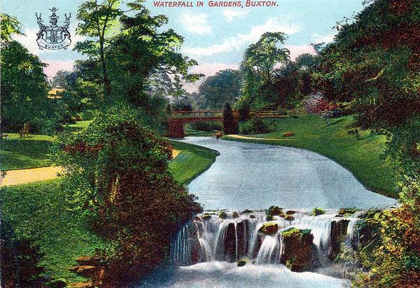 Waterfall in Gardens