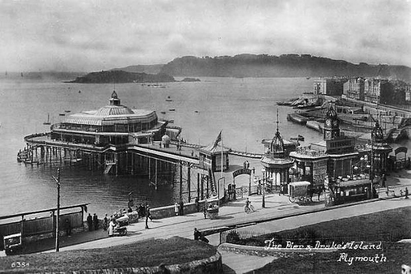 The Pier and Drake's Island