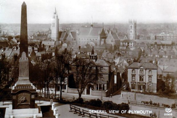 Plymouth in 1915