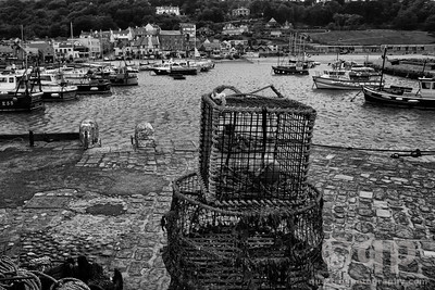 FISHING POTS AT LYME REGIS