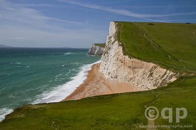 WHITE CLIFFS OF DURDLE DOOR, THE JURASSIC COAST