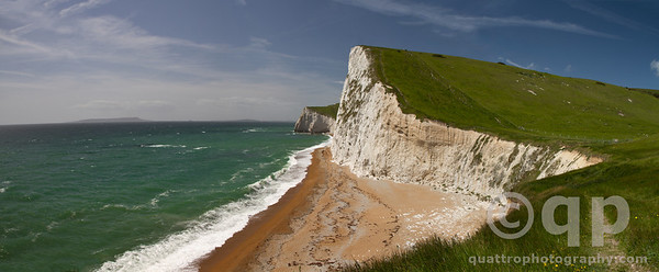 WHITE CLIFFS OF DURDLE DOOR, WEYMOUTH BAY