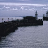 Prince of Wales Pier Lighthouse and Admiralty Pier Lighthouse. Dover, England.
