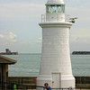 Prince of Wales Pier Lighthouse. Dover England.
