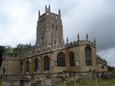 The Church Of St Mary The Virgin, Fairford - England