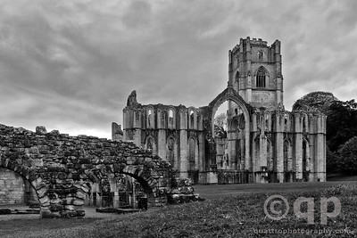 ABBEY IN BLACK AND WHITE