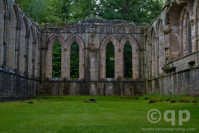 REFECTORY OF FOUNTAINS ABBEY