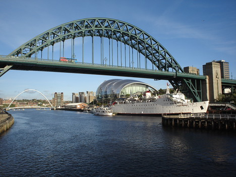 Tyne Bridge and Sage, Gateshead - England