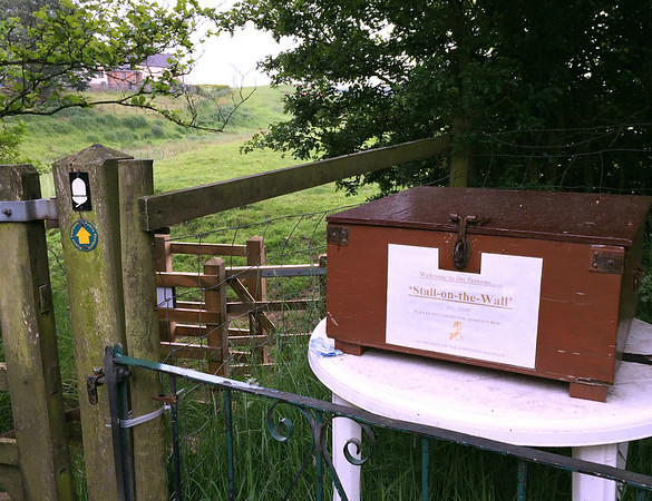 The Stall-on-the-Wall honesty box.