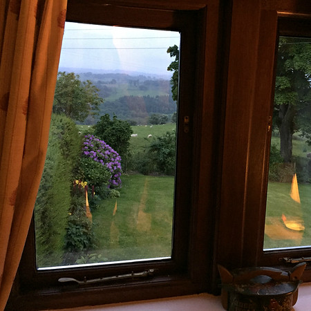 Our Quarryside B&B room with a view