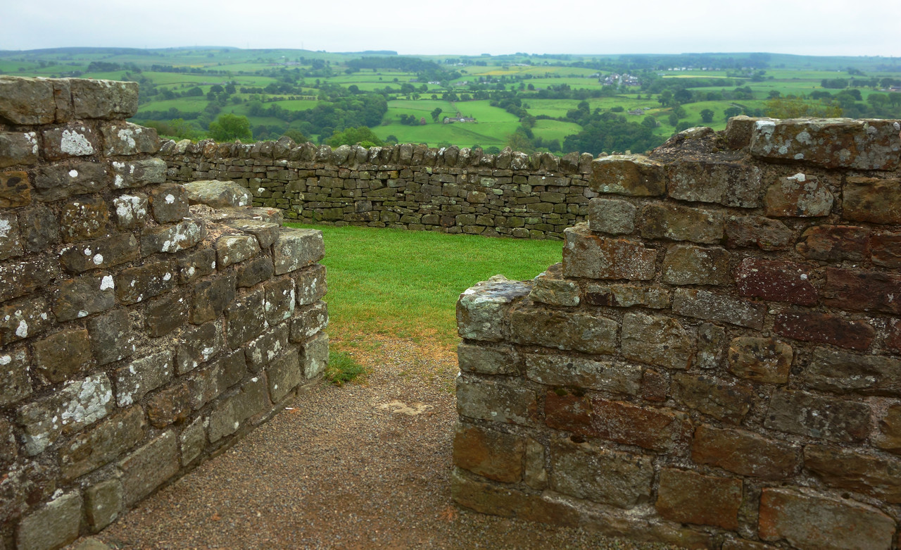 A Milecastle at Hadrian's Wall