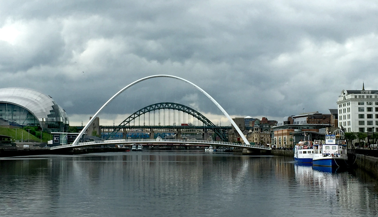The bridges of Newcastle-upon-Tyne