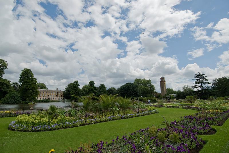 More greens and a lake at the Royal Botanical Gardens, Kew - England