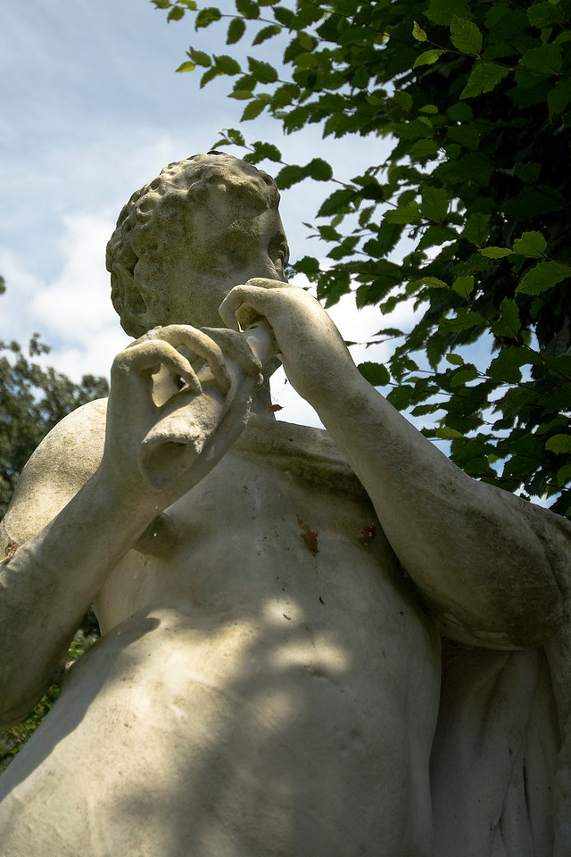 A sculpture spotted at the Royal Botanical Gardens in Kew, England