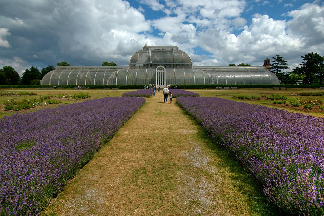 The Royal Botanical Kew Gardens in England