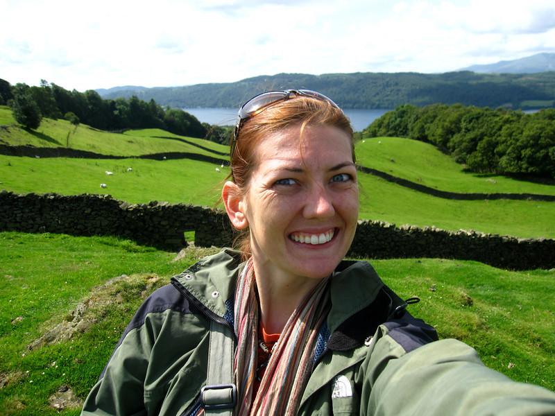Lake District in England on RTW trip