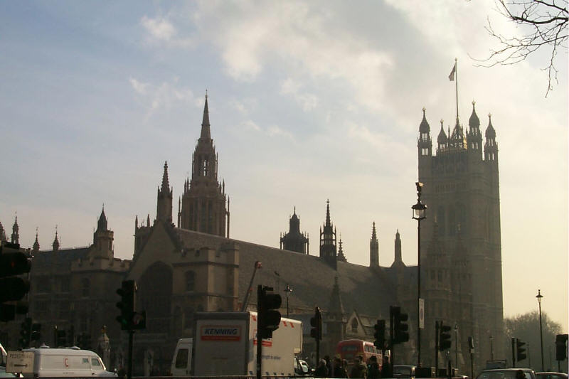 Parliment Building in London, England