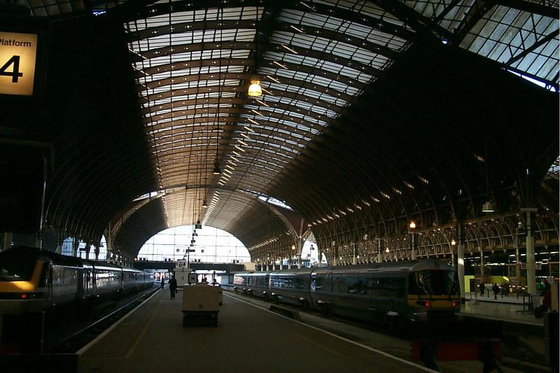 Paddington Station in London, England